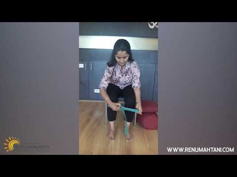 Embedded thumbnail for KNEE AND LEG STRENGTHENING PRACTICES AT HOME